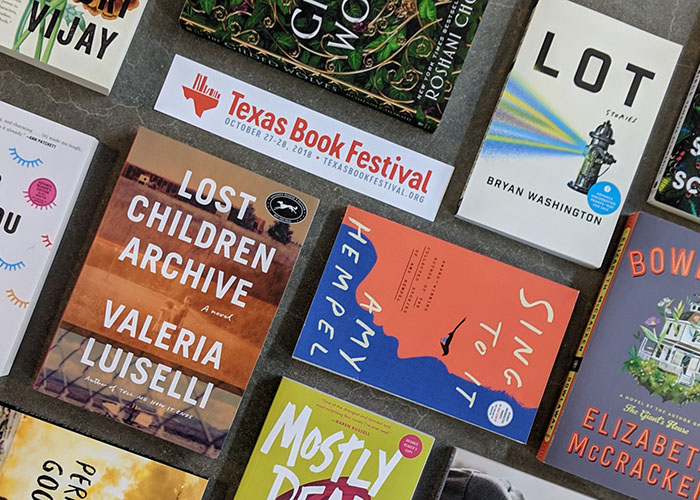 Texas Book Festival Reading List
