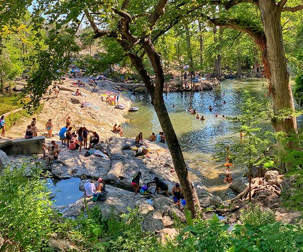 Austin Day Trips: Krause Springs