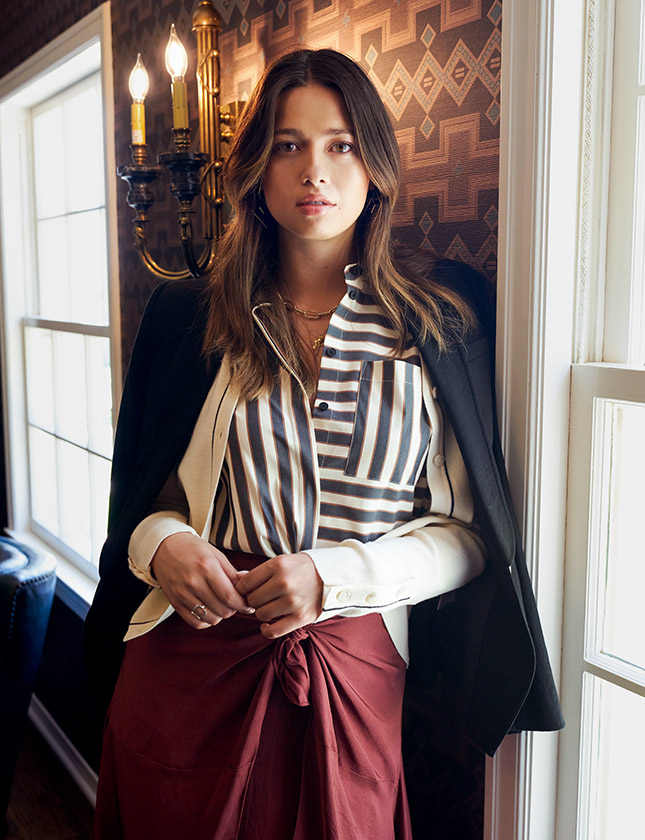 Fall Style: Bold Patterns, Rich Textures and Great Escapes