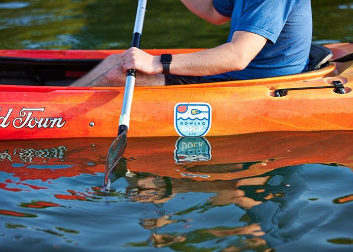 Rowing Dock Full Moon Paddle