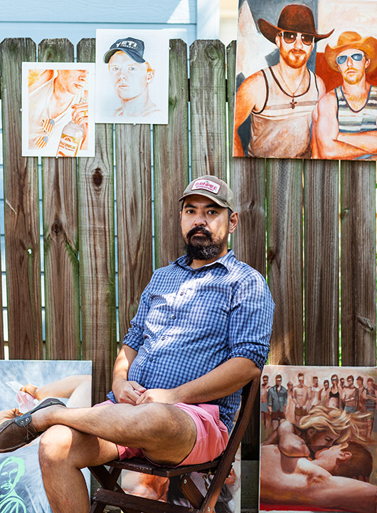 Austin Artists 2020: Saul Jerome San Juan