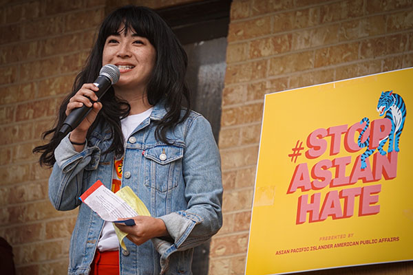Rally to #StopAsianHate