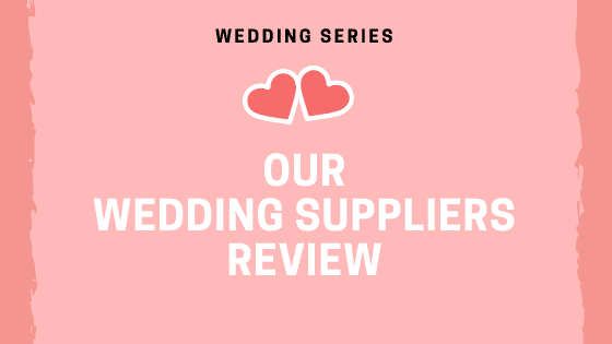 our wedding suppliers review