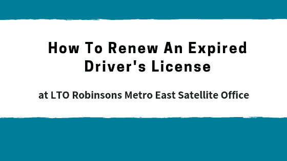 can i renew expired driver license