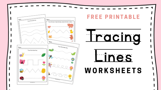 image relating to Tracing Lines Worksheets Printable titled Printable: Tracing Strains Worksheets -