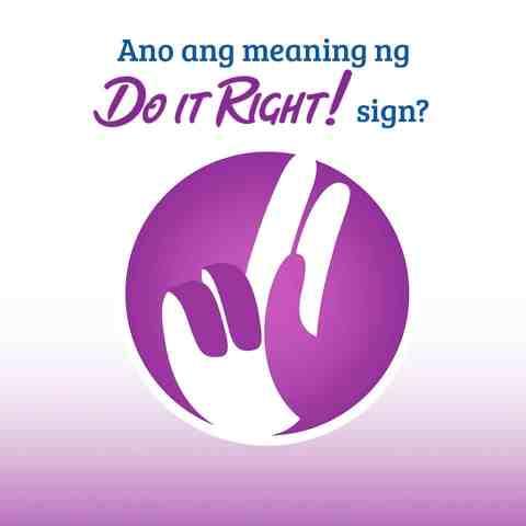 #DoItRight Hand Sign