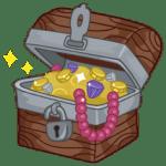 boite à outils pleine de trésors