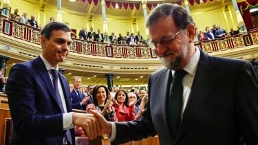 Moción de censura: Sánchez derrota a Rajoy