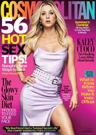Portada de la revista Cosmopolitan, mostando cómo la belleza va atada a otros valores sociales como la sexualidad, o la identidad.