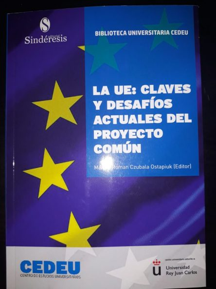 """Portada del libro que incluye nuestro capítulo """"El rol de la Unión Europea en la gobernanza global""""."""