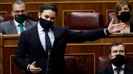 Abascal propone una moción de censura cuyo objetivo es controlar a la derecha, no al partido en el gobierno.