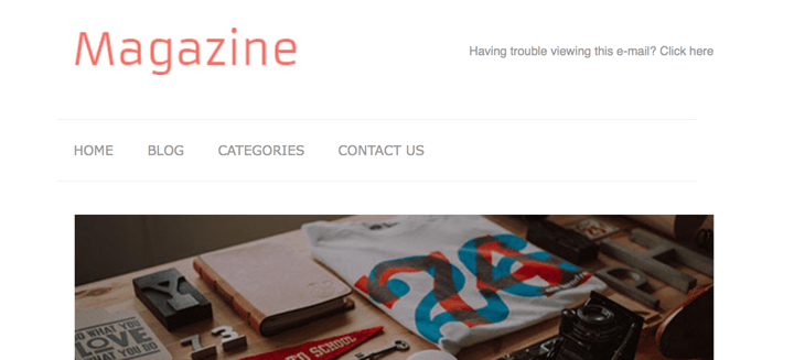 magazine-newsletter-template