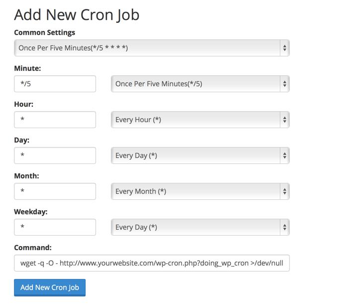 Replace WordPress Cron with Real Cron Job