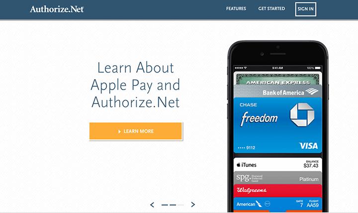 Best Payment Gateway - Authorize.net