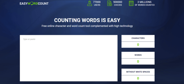 word count for SEO Content