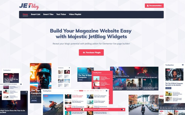 JetBlog - Blogging Package for Elementor Page Builder WordPress Plugin