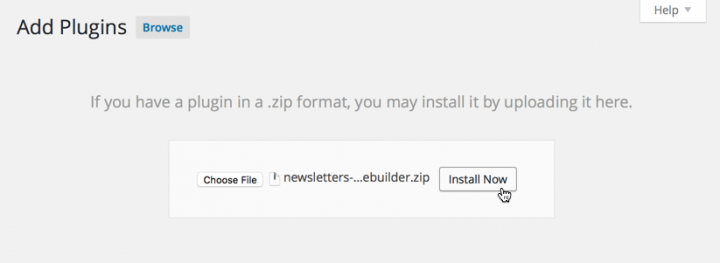 WordPress Newsletter plugin: Profile Builder Subscribers