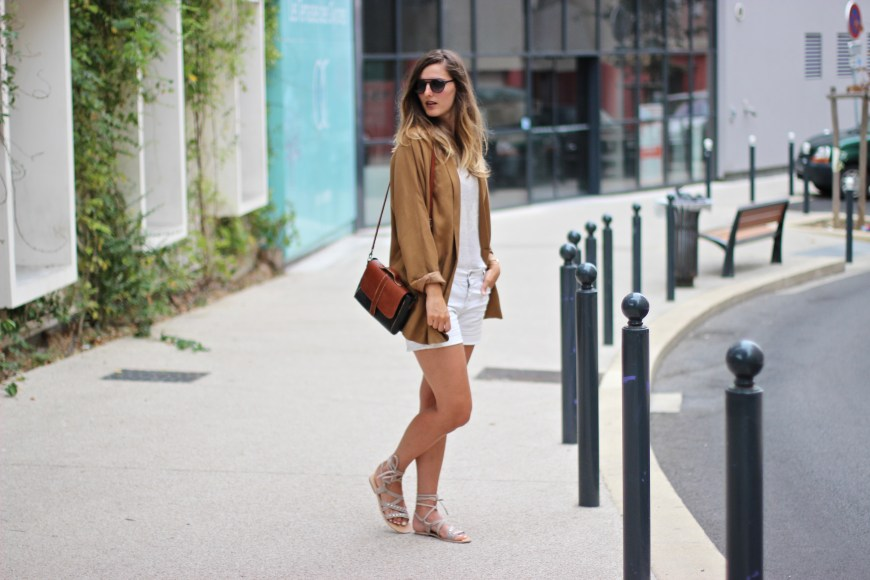 blog mode Veste camel