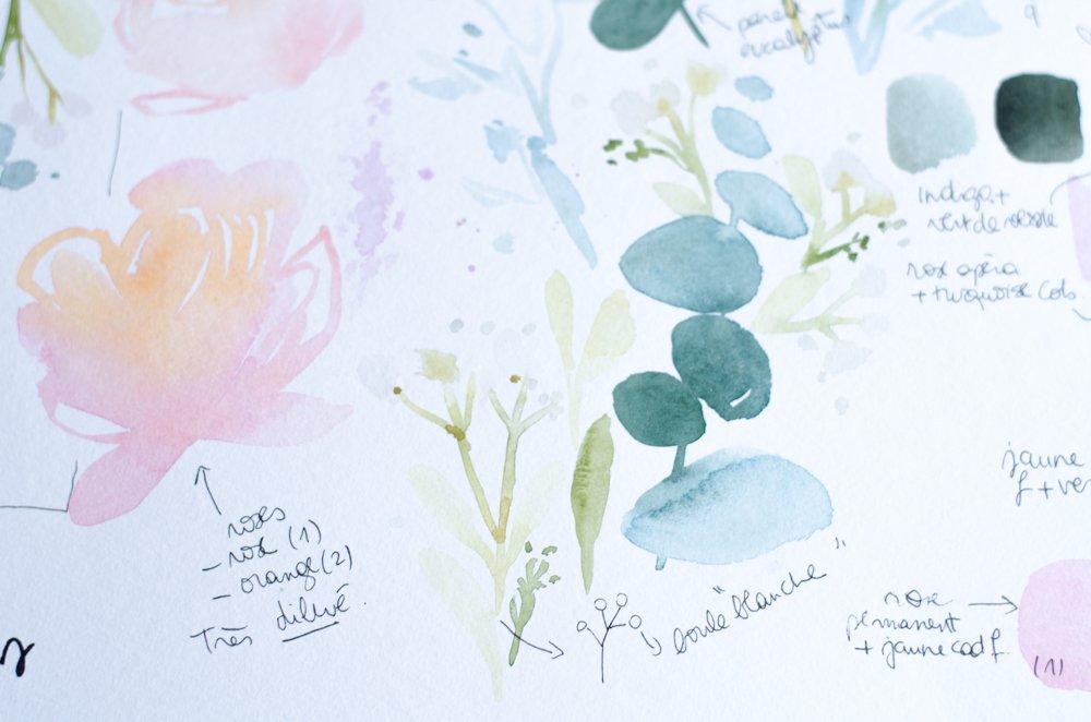 fleurs aquarelle nuancier-11