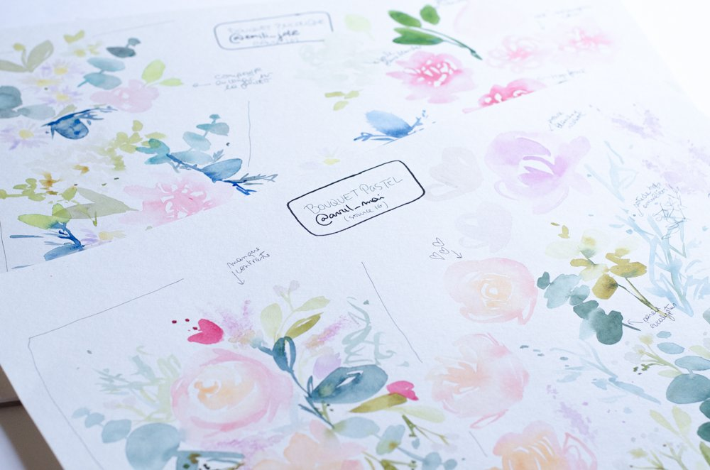 fleurs aquarelle nuancier-31