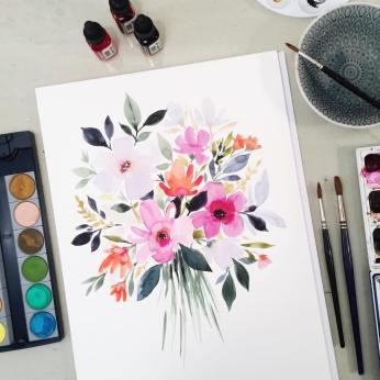 aquarelle inspiration artistes fleurs stephanie ryan 3
