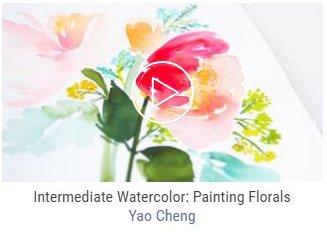 apprendre aquarelle creativebug