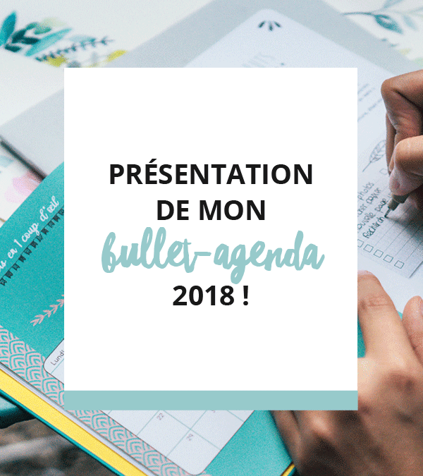 Bullet-agenda 2018: présentation du projet !