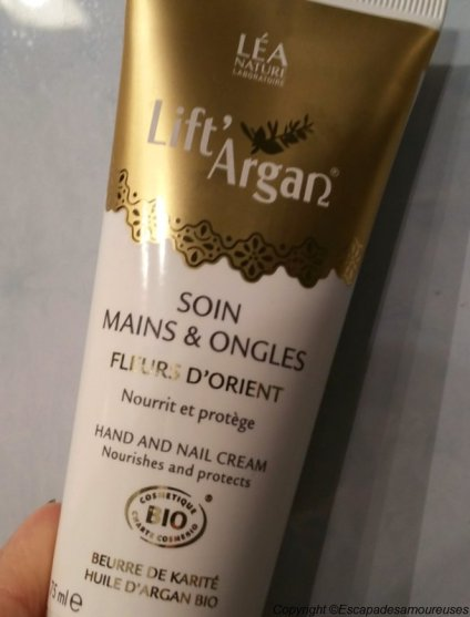 LIFT ARGAN SOINS MAINS ET ONGLES