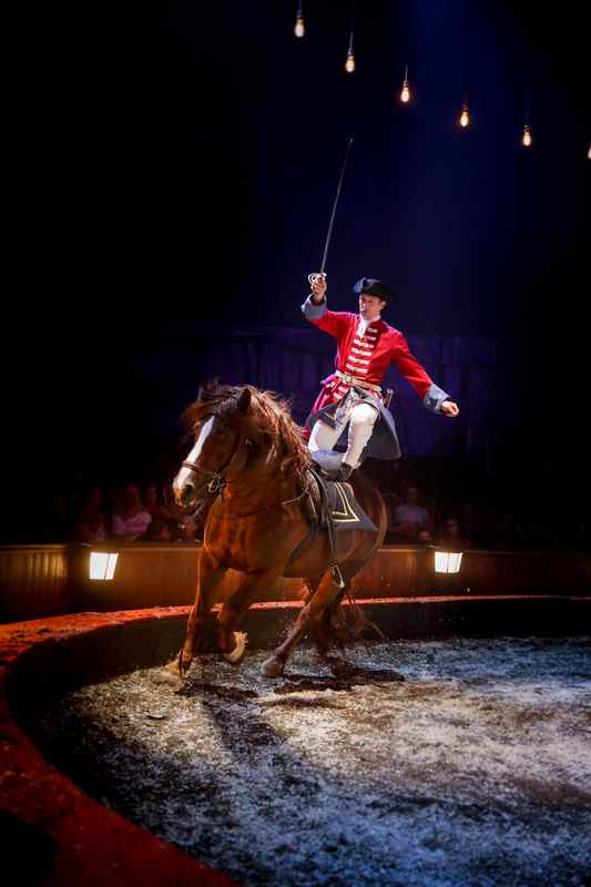 alexisgrussAstley-Stephan spectacle Origines dressage chevaux