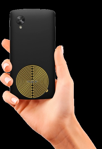 FAZUP patch anti-ondes pour votre smartphone