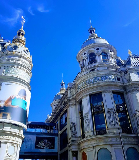 Paris au mois de mai