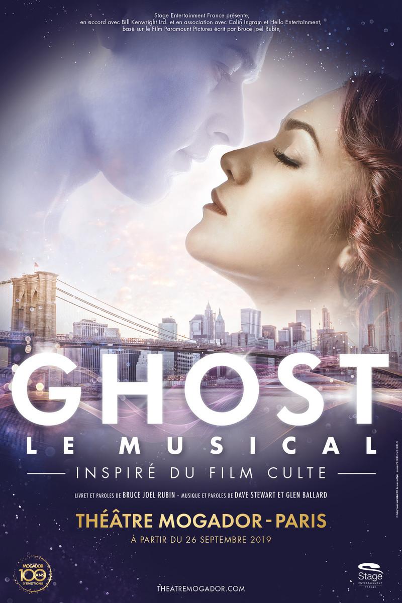 Ghost le musical au théâtre Mogador