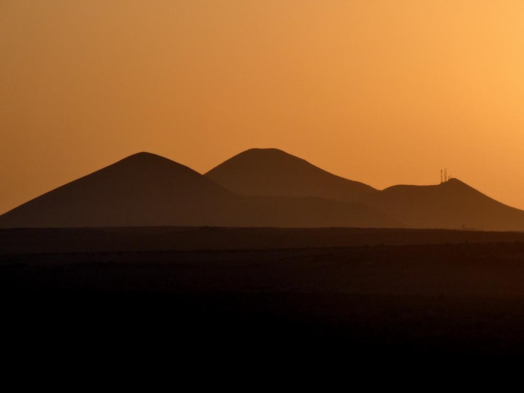 Coucher de soleil à Lanzarote lundi soleil