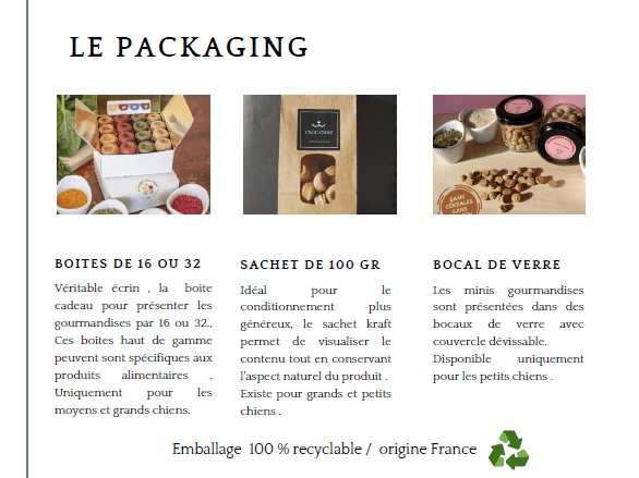 Crocandiz différents packagings