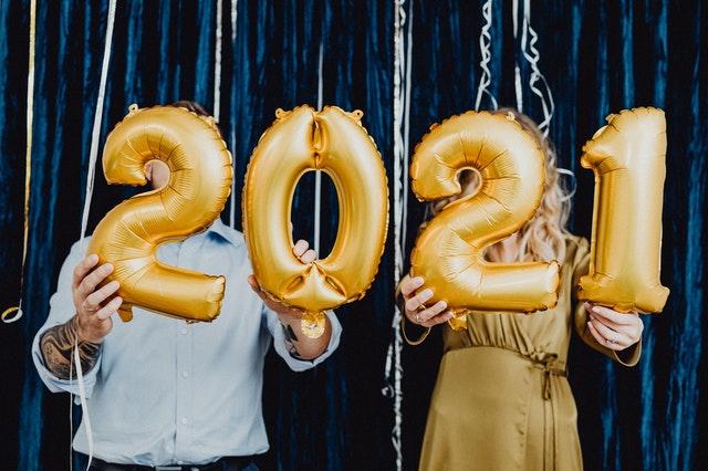 2021 reveillon du 31 décembre bonne année