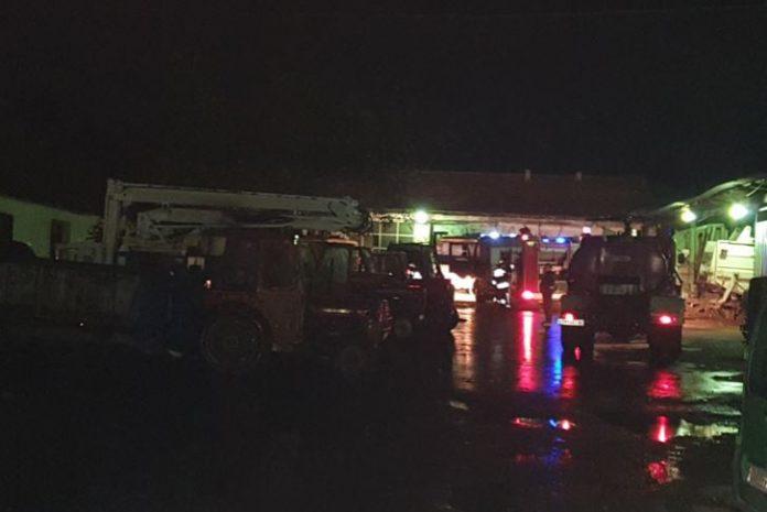 Пожар Во комуналното претпријатие Во Кочани, оштетени четири возила