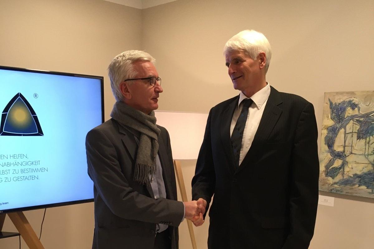 Проф. д-р Рафајловски, член на УК на ГДУ, назначен за раководител на проект финансиран од Германија