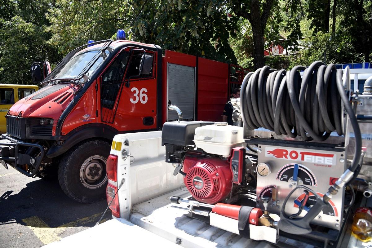 Пожар во стан во Тетово – Еден Тешко повреден, десетина затруени