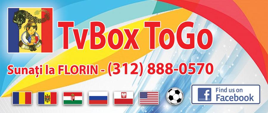 TvBox ToGo – Aparat de recepție a canalelor TV românești + multe altele
