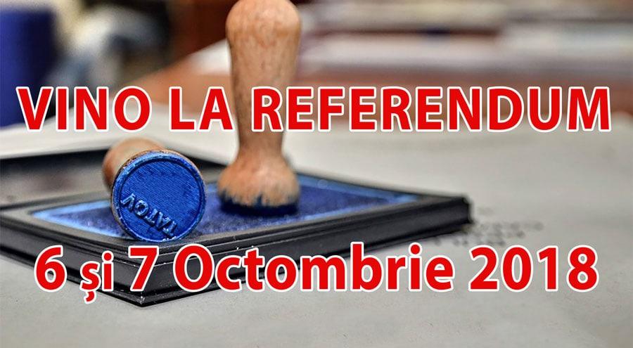 DE CE se va desfășura pe parcursul a două zile Referendumul pentru modificarea Constituției (6 și 7 octombrie 2018)?