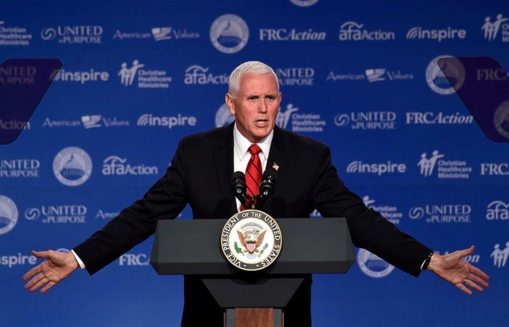 Mike Pence avertizează conservatorii creștini împotriva automulțumirii la alegerile din noiembrie 2018