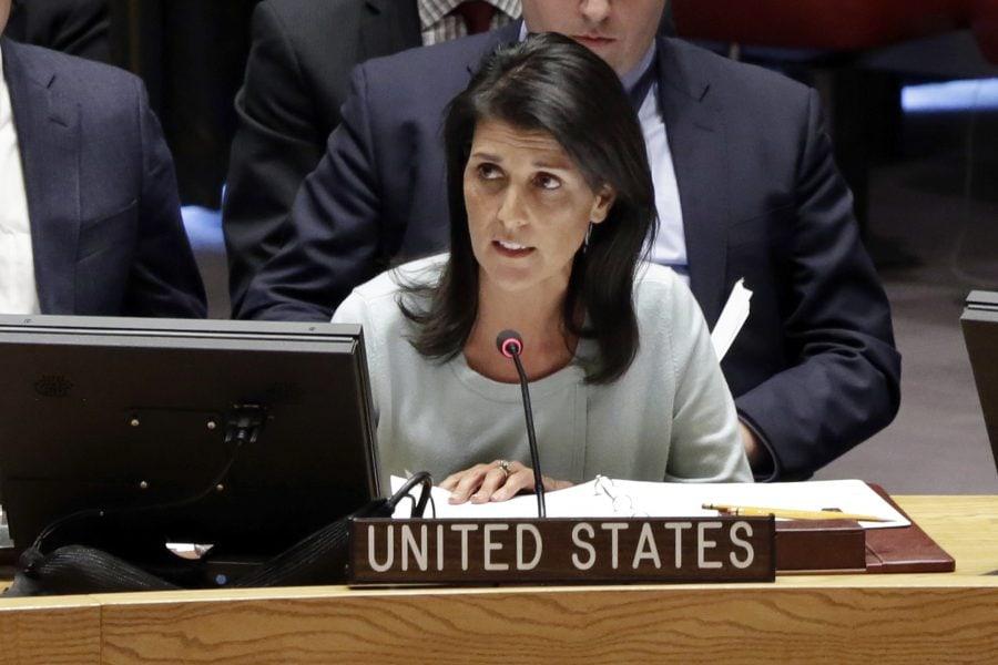 Ambasadorul SUA la ONU, Nikki Haley, și-a prezentat demisia