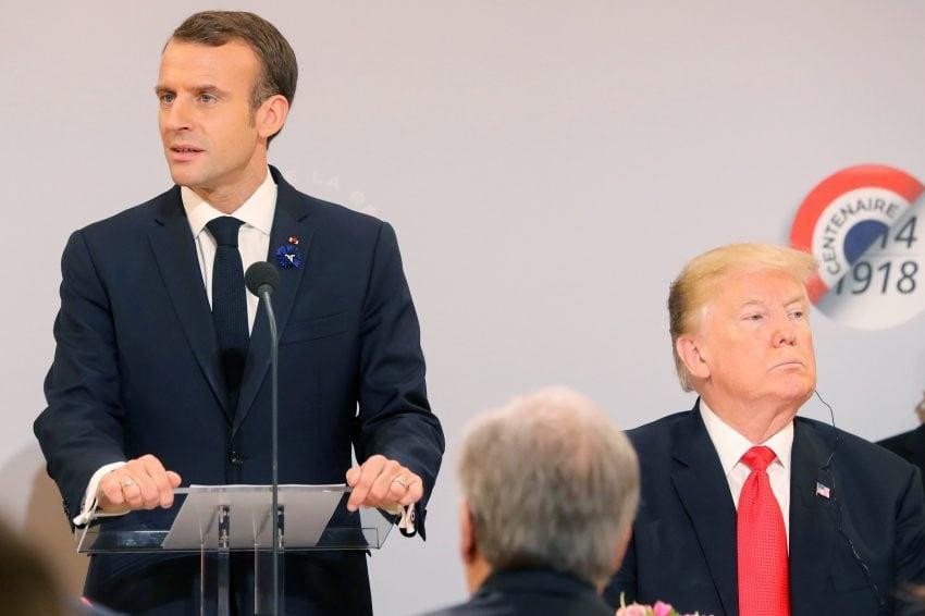 Trump îndreptățit să-l atace pe Macron după ce președintele francez a descris naiv Statele Unite ca inamic