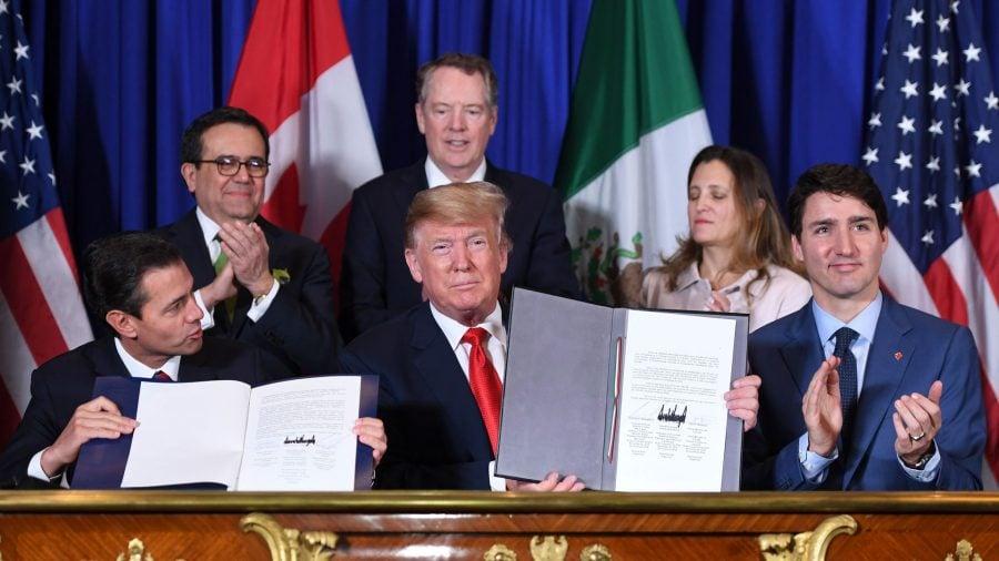 SUA, Mexic și Canada au semnat oficial un nou acord de liber schimb