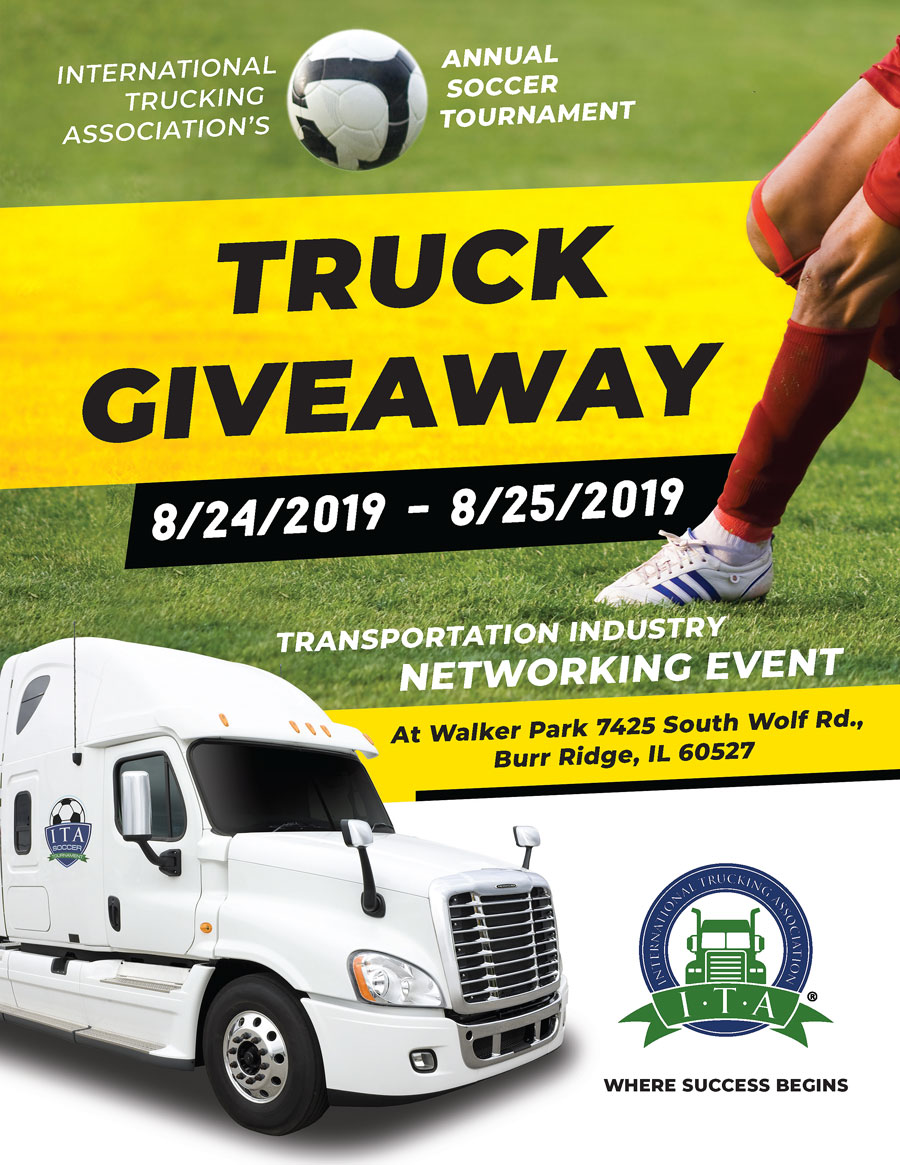 TRUCK GIVEAWAY – HAVE A VALID C.D.L. AND WIN A SEMI-TRUCK !