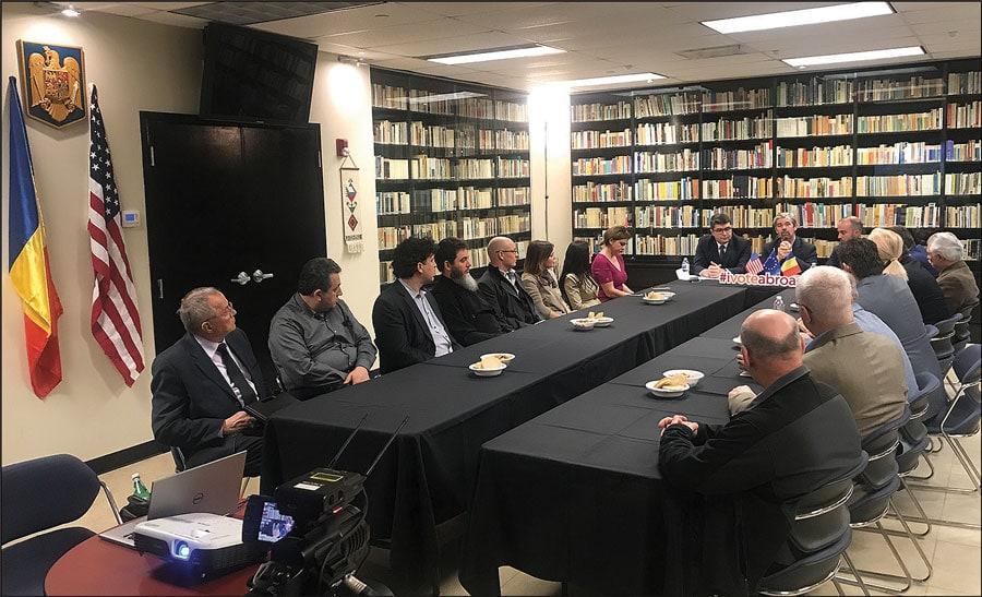 Reprezentanți ai Parlamentului European au avut o întâlnire cu liderii comunității românești din Chicago