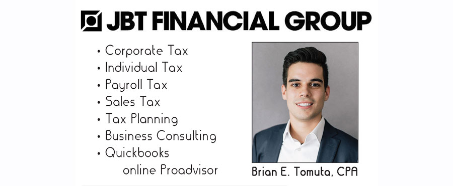Brian E. Tomuta CPA – For All Your Tax Matters!