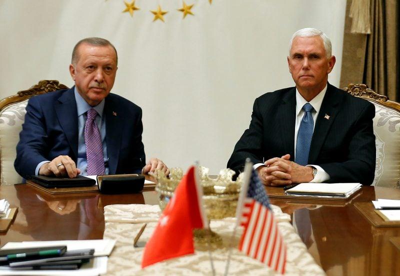 SUA şi Turcia au ajuns la un acord privind o încetare a focului în Siria, a anunţat Mike Pence