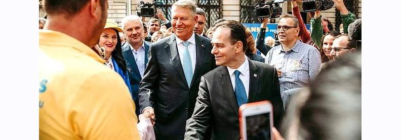 PNL conduce România: Guvernul Orban a fost votat de Parlament.