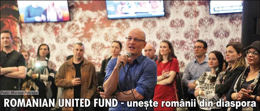Romanian United Fund (RUF) – o nouă organizație în comunitatea românească